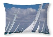 Approaching The Mark Throw Pillow