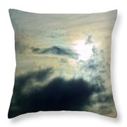 Approaching The Moon Throw Pillow
