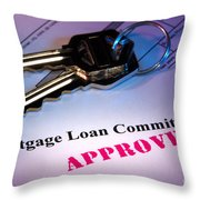 Approved Throw Pillow