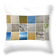 April Beach 2.0 Throw Pillow