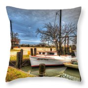 April Dawn Poquoson Virginia Throw Pillow