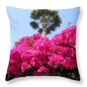 April Flowers 2013 Throw Pillow