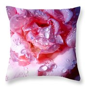 April Rose Palm Springs Throw Pillow