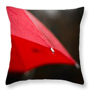 April Showers Bring May Flowers Throw Pillow