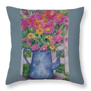 April Showers Bring Throw Pillow