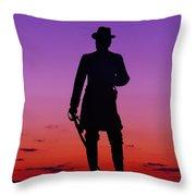April Sunset In Gettysburg Throw Pillow