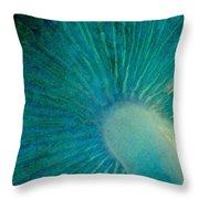 Aqua Gills Throw Pillow