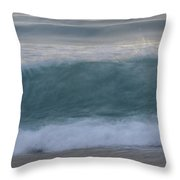 Aqua Rhapsody Throw Pillow