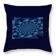 Aqua Tint Memories Throw Pillow