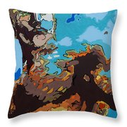 Aquaman - Reflections Throw Pillow
