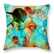 Aquarium 612-12-13 Marucii Throw Pillow
