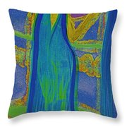 Aquarius By Jrr Throw Pillow