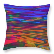 Aqueous Throw Pillow