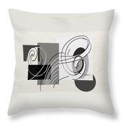 Arabescos 1 Throw Pillow
