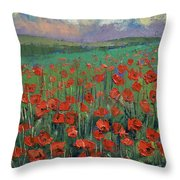 Arabesque Throw Pillow by Michael Creese