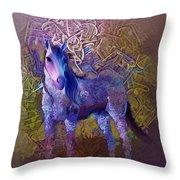 Arabian Horse 2  Throw Pillow