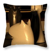 Arabian Mate Throw Pillow