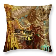 Arabian Symbolism Throw Pillow