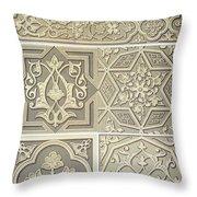 Arabic Tile Designs  Throw Pillow