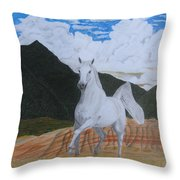 Araboam Stallion 3 Throw Pillow