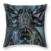 Arachnophobia V Throw Pillow