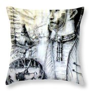 Arapaho Cheyenne Throw Pillow