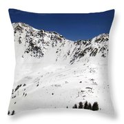 Arapahoe Basin Ski Resort - Colorado          Throw Pillow