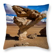 Arbol De Piedra Select Focus Throw Pillow
