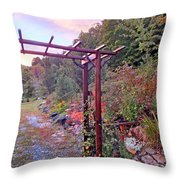 Arbor And Fall Colors 2 Throw Pillow
