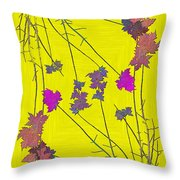 Arbor Autumn Harmony 12 Throw Pillow