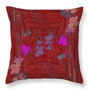Arbor Autumn Harmony 7 Throw Pillow
