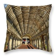 Arbor In Boston Throw Pillow