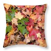 Arboretum - Oak Throw Pillow