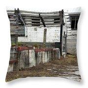 Arcadia Florida State Livestock Market I Poster Look Throw Pillow