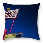 Arcadia Lodge Throw Pillow
