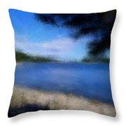 Arcadia Maine A La Manet Throw Pillow