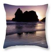 Arcadia Silhouette Throw Pillow