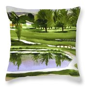 Arcadia Valley Country Club Dramatic Throw Pillow