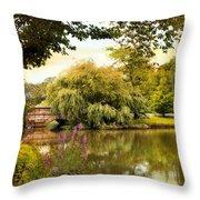 Arcadian Splendor Throw Pillow