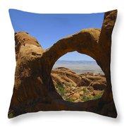Arch 31 Throw Pillow
