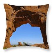 Arch 39 Throw Pillow