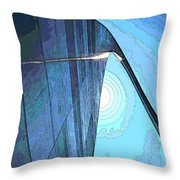 Arch Contorno Throw Pillow