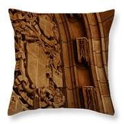 Arch Details Throw Pillow