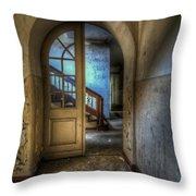 Arch Door Throw Pillow
