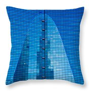 Arch In Glass Throw Pillow