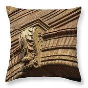 Arch Key Throw Pillow