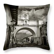 Arch Of Santa Catalina Throw Pillow