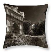 Arch Of Titus Throw Pillow