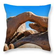 Arch Rock - Joshua Tree National Park  Throw Pillow