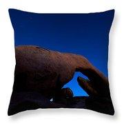 Arch Rock Starry Night Throw Pillow